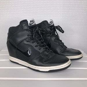 Nike Dunk Sky Hi Essential 7.5 Wedge Heel Sneakers